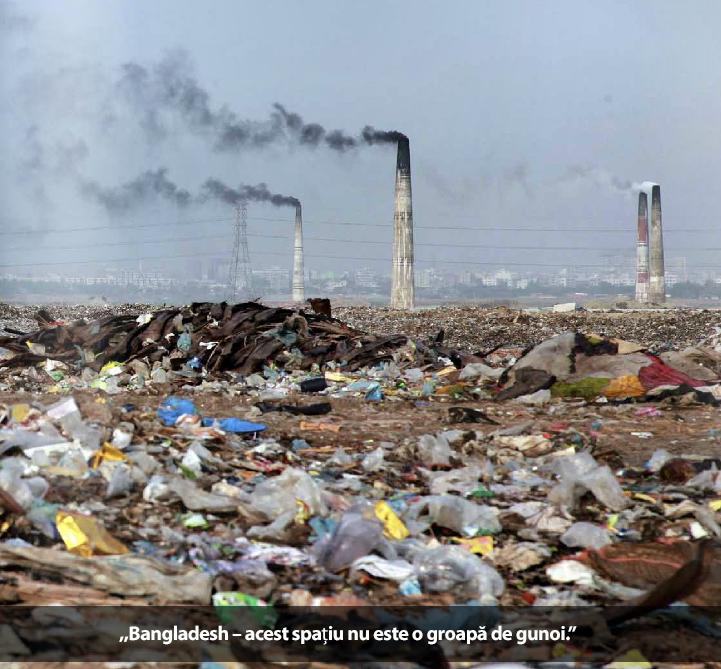 gunoi si poluare aer